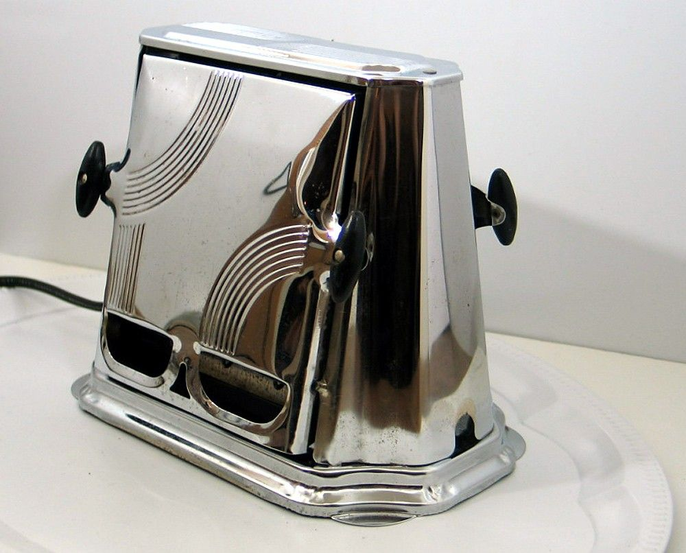 Antique Electric Toasters ~ Antique son chief art deco style toaster