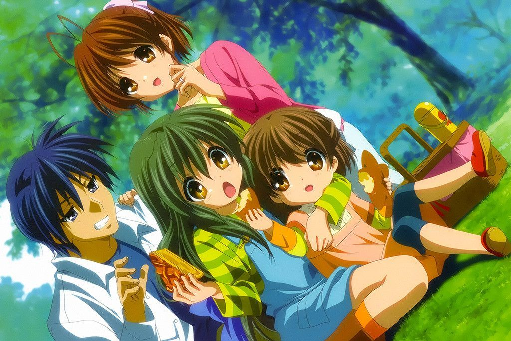 Anime Clannad Game Poster