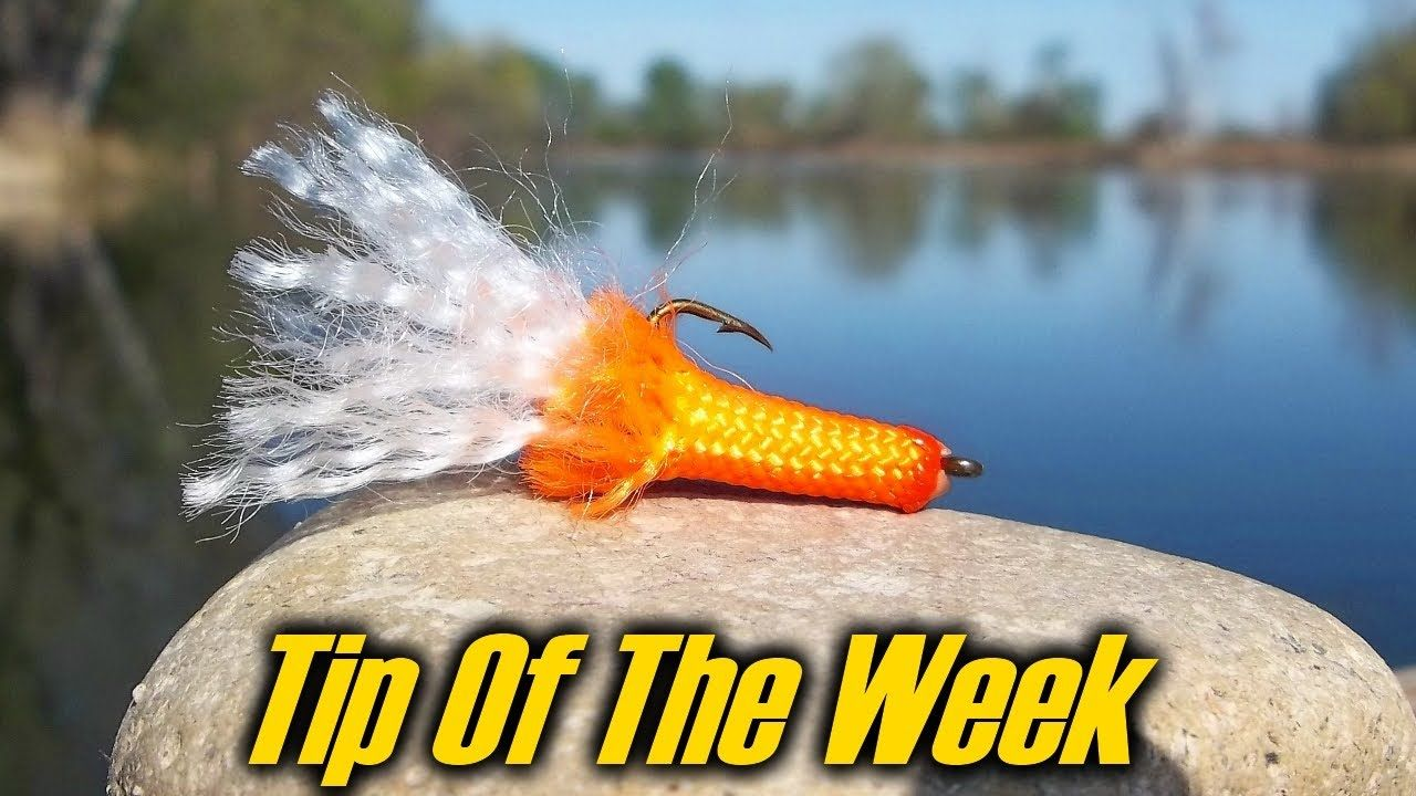 Intenseangler Tip Of The Week Paracord Fishing Lure Great Way