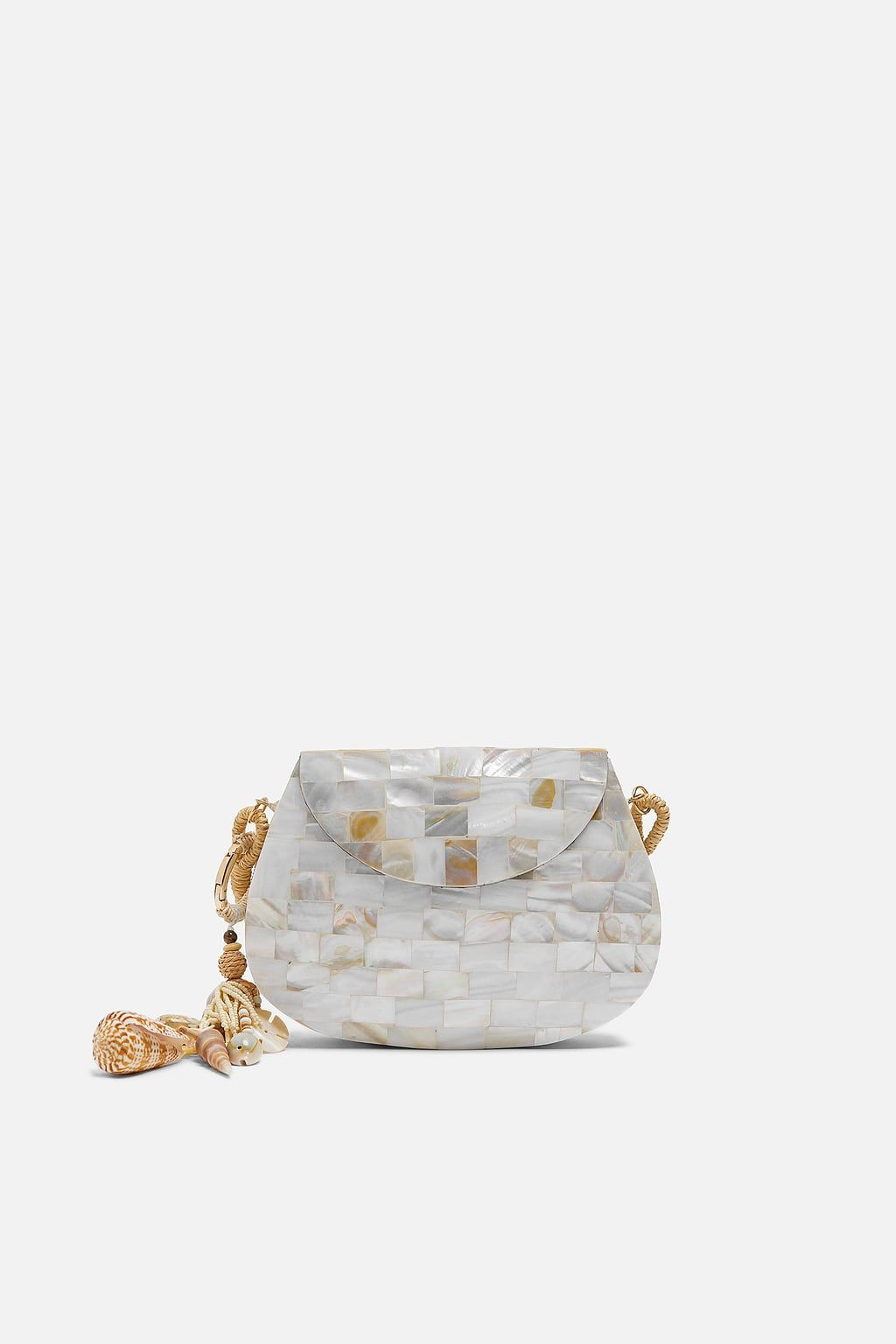 c56f4d9f0a Mother of pearl effect crossbody bag in 2019 | color trend forecast ...