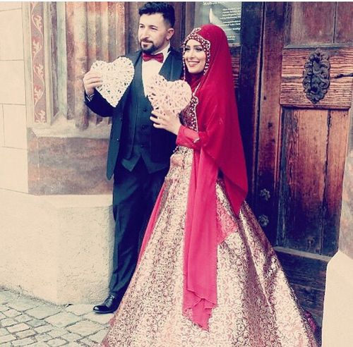 783a6198929 195+ of The Cutest and Most Beautiful Muslim Married Couples ...