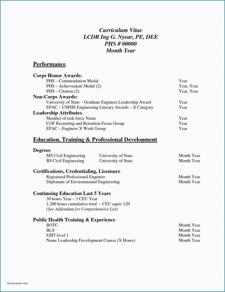 32 Lovely Honors and Awards On Resume in 2020 Basic