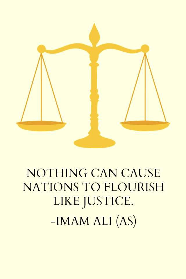 Nothing can cause nations to flourish like justice | Quotes
