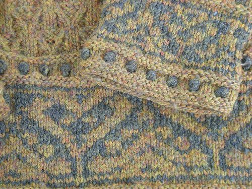 Photo of Catherine Parr pattern by Alice Starmore