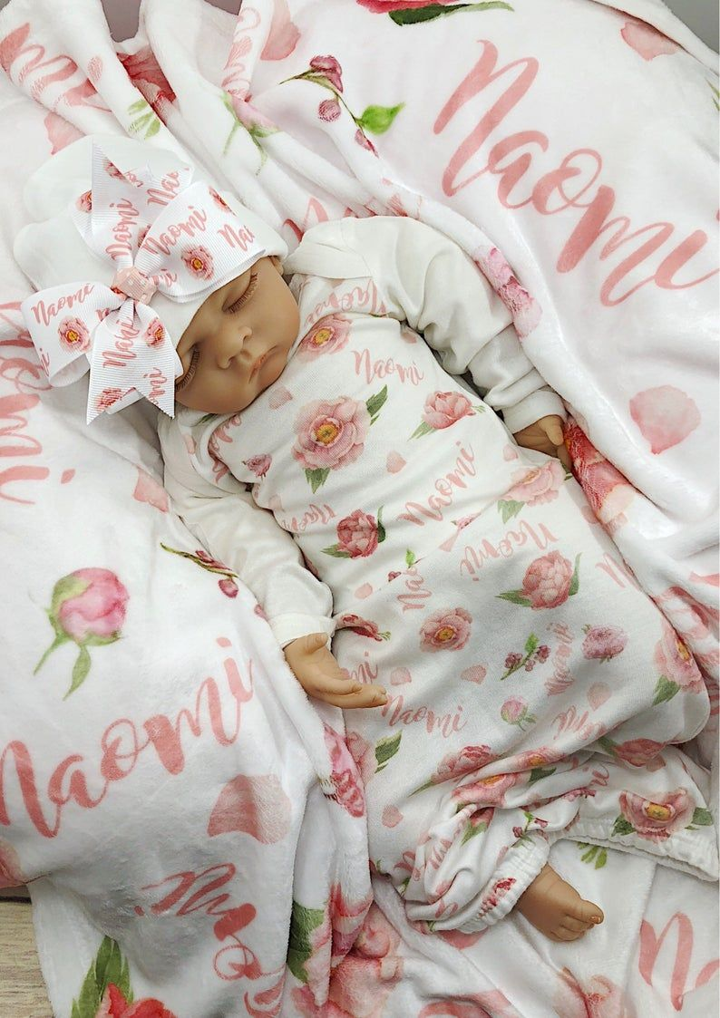 Infant Gown Coming Home Outfit Custom Baby Gown Baby Gown Baby Shower Gift Sleep Gown Personalized Sleep Sack Baby Clothes