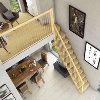 dolle raumspartreppe lyon kiefer 1 4 gewendelt oben holzgel nder 65cm breit treppen treppe. Black Bedroom Furniture Sets. Home Design Ideas