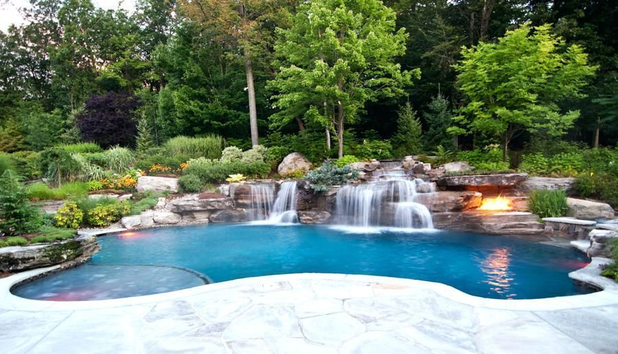 Superb Pictures Pool Landscape Ideas Swimming Pool Landscaping Ideas Pictures Swimming  Pool Landscape Plans Swimming Pools Portfolio #PoolLandscapingIdeas