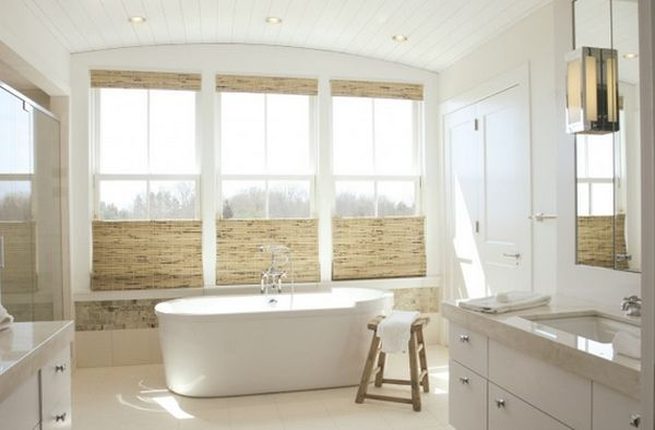 Gordijn Badkamer 9 : 9 treatments for high windows
