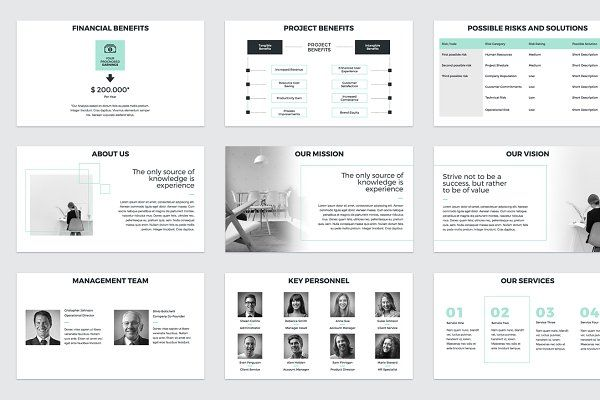 Project Proposal Powerpoint Template By Creativeslides On
