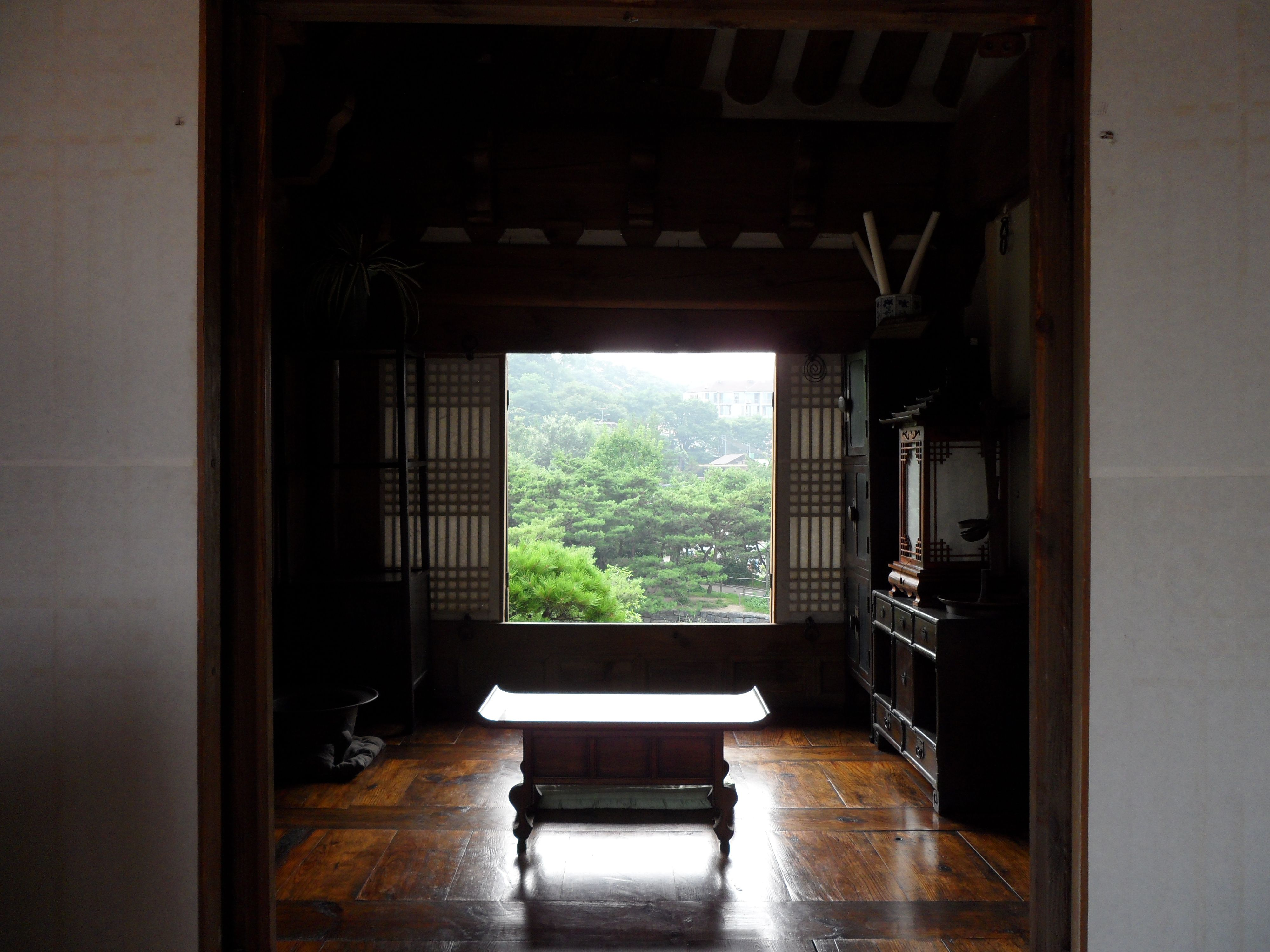 Traditional chinese house interior namsangol hanok village is a mini folk village consisting of a