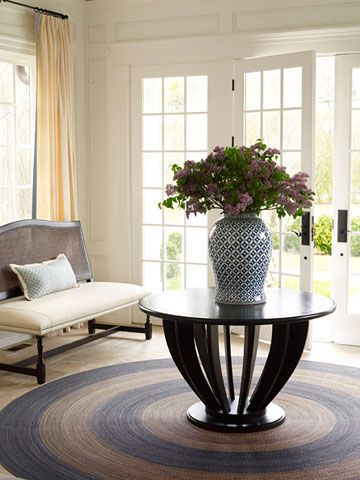 Relaxed Living Round Foyer Table Foyer Table Entrance Table
