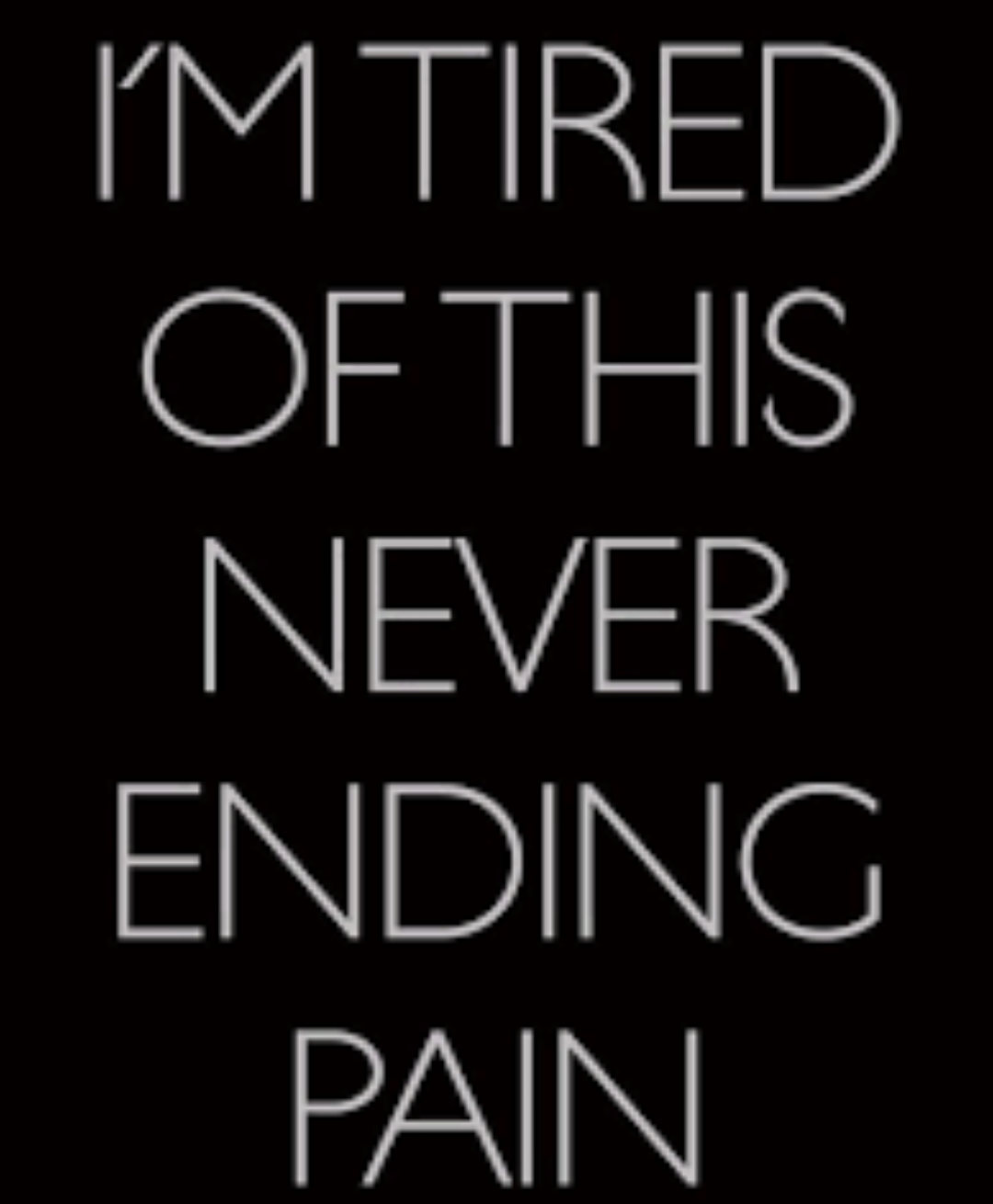 Chronic Pain Quotes Even Worse Knowing It Isn't Going To Get Any Better  Yeah I Have
