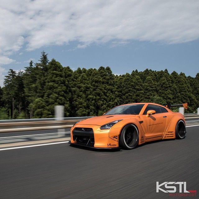 Orange Painted Liberty Walk GTR #ObuchiMotors