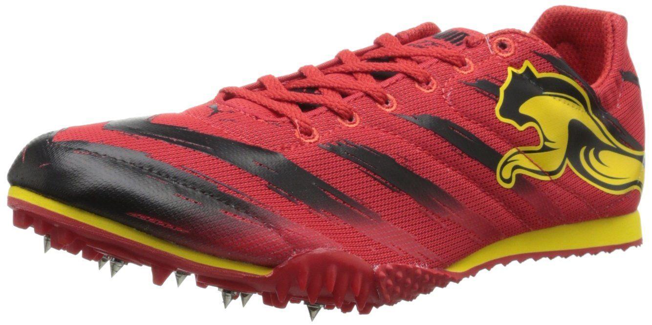da5a7489e7fb1 PUMA Men's TFX Star V2 Track and Field Shoe,High Risk Red/Black ...