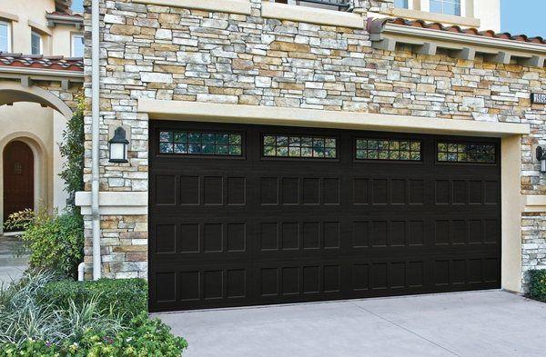 Amarr Designers Choice Black Garage Door