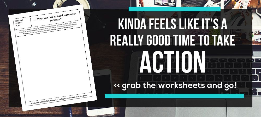 Creative Action Plan Worksheets Develop a strong