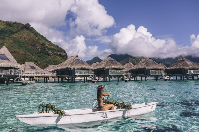 A Clear Candidate For Paradise On Earth Is Tahiti S Little