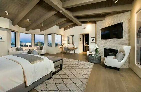 Habitacion De Matrimonio Lujosa Dream Homes In 2018 Pinterest - Habitaciones-de-matrimonio-rusticas