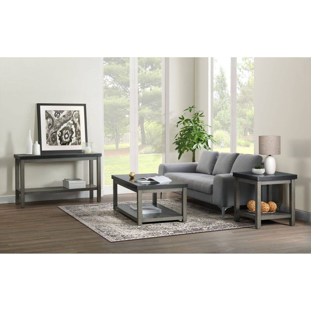 3pc Graham Occasional Table Set Brown Picket House Furnishings In 2021 Picket House Furnishings Coffee Table 3 Piece Coffee Table Set [ 1000 x 1000 Pixel ]