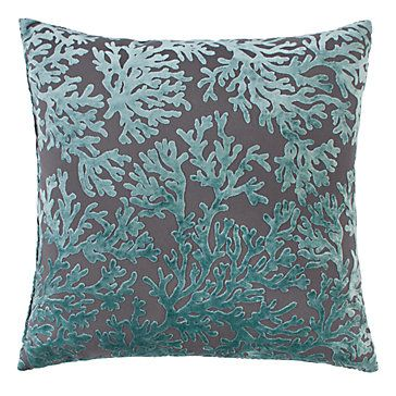 "Corales Pillow 24"" | Pillows | Bedding and Pillows"
