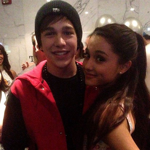 Is austin mahone and ariana grande dating