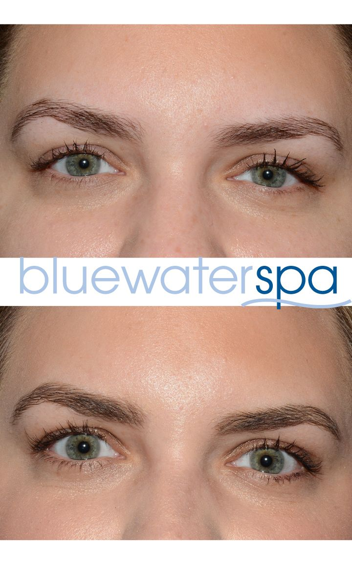 Microblading at Blue Water Spa Raleigh, NC. www