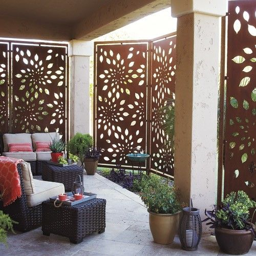 Lattice Privacy Screen Pool
