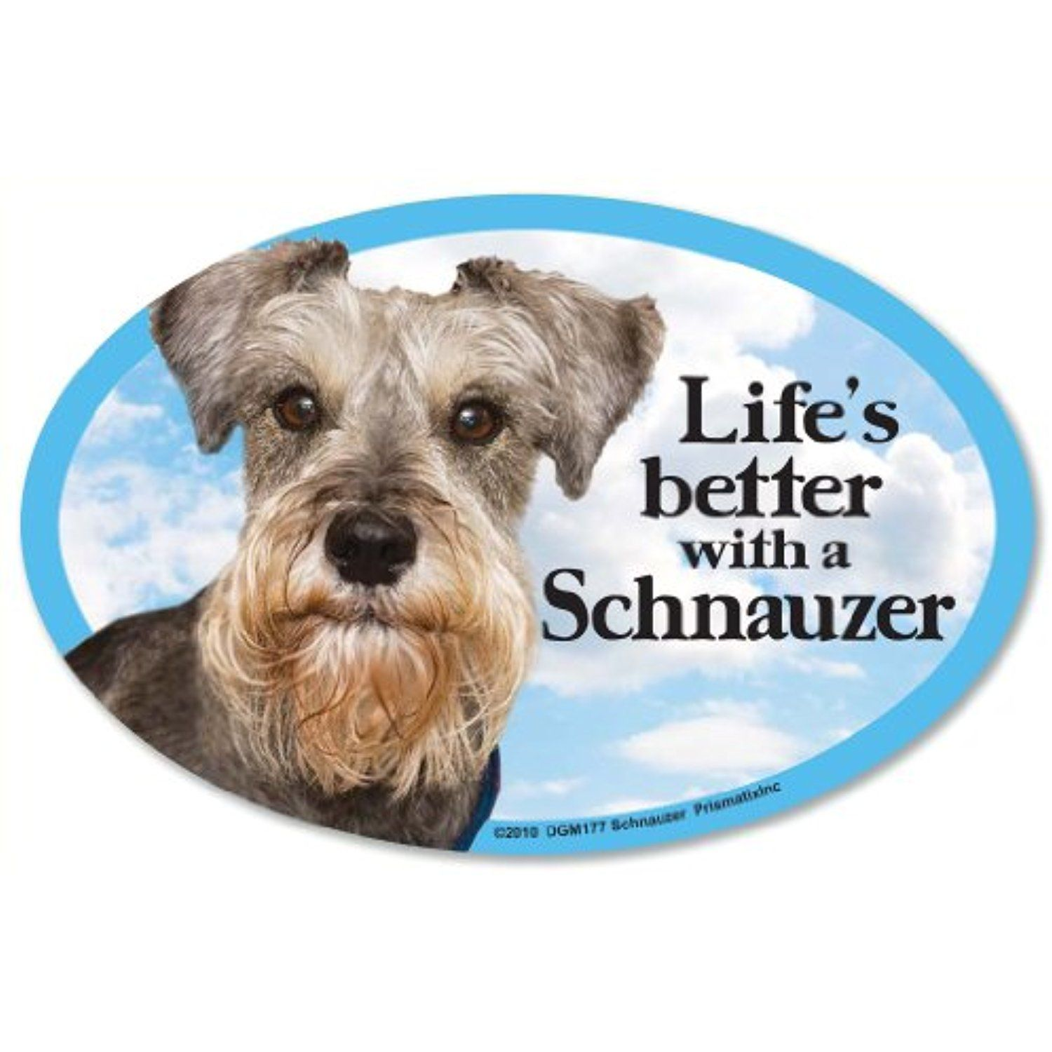 Schnauzer Oval Dog for Cars ** Want to know more
