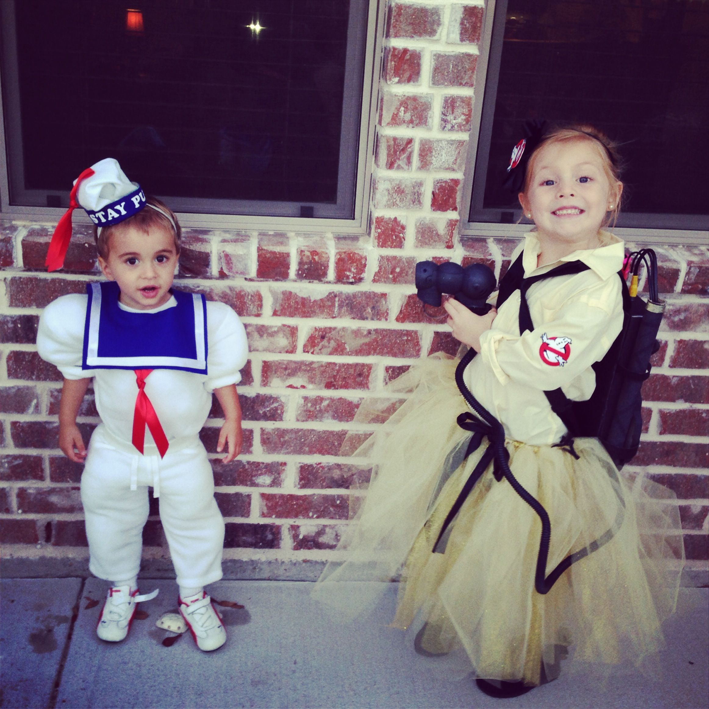kids halloween costumes ghostbuster staypuft homemade diy