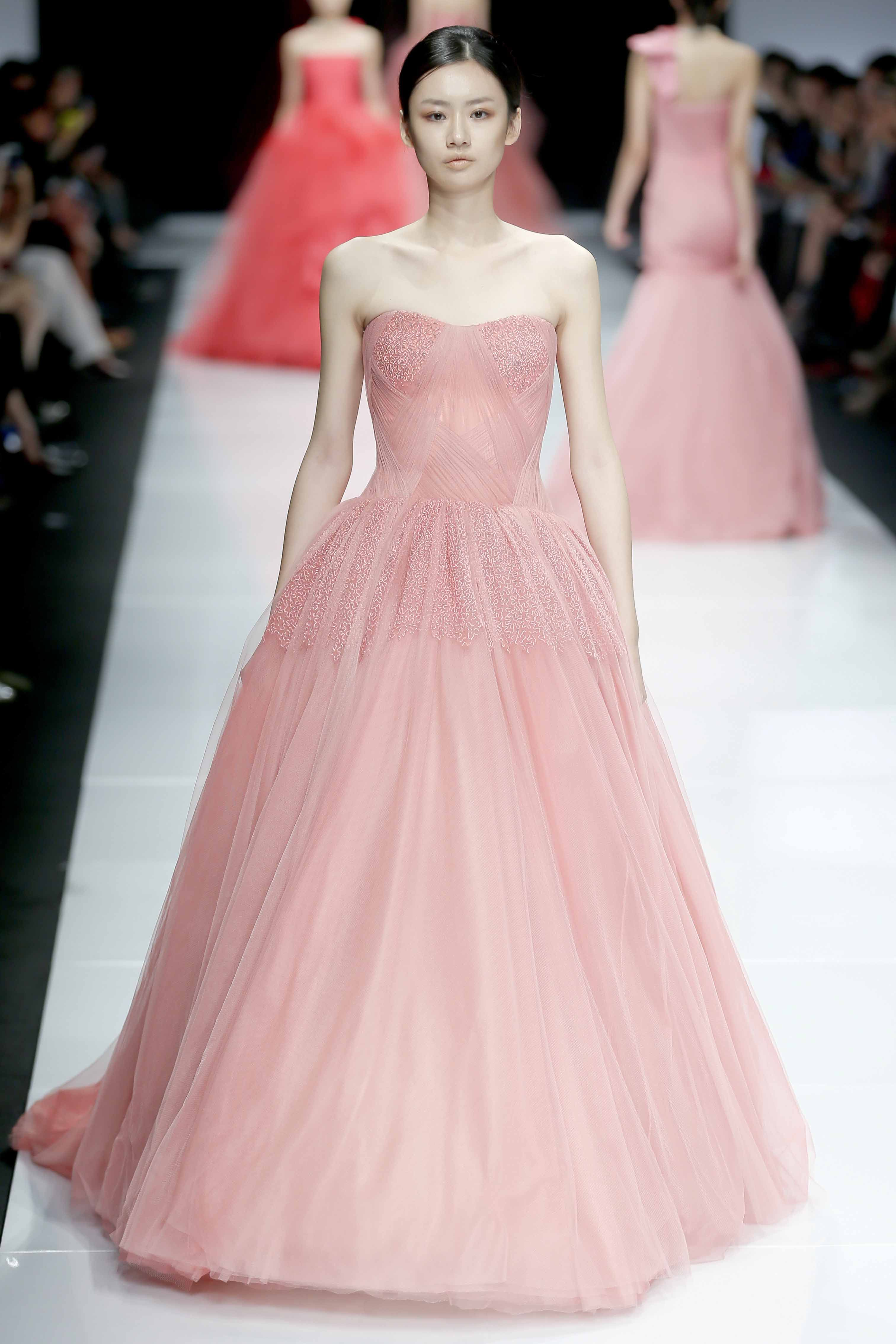 On the Runway | Shanghai | Vera Wang | Wedding | Pinterest