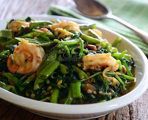 Dapur Tanpa Sempadan Kangkung Goreng Tauco Resep Masakan Asia Resep Makanan Resep Masakan