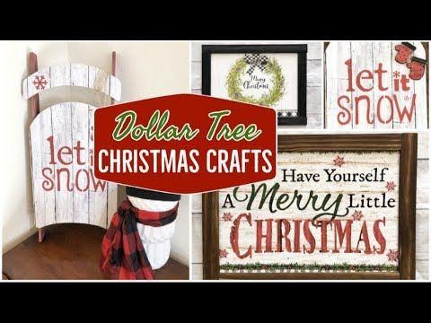 DOLLAR TREE CHRISTMAS 2019   DOLLAR TREE DIY - YouTube Xmas bag glued to foam board and paint sticks for frame