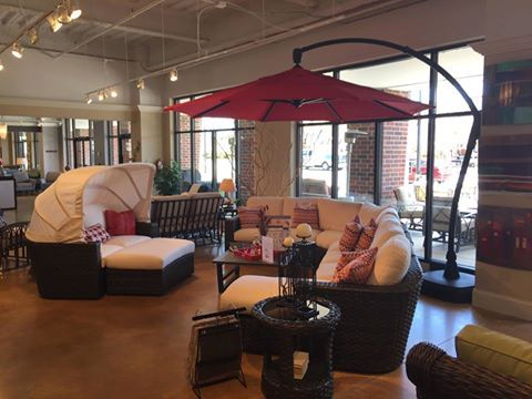 Klaussner Is A New Outdoor Furniture Brand To Louisiana Furniture Gallery.