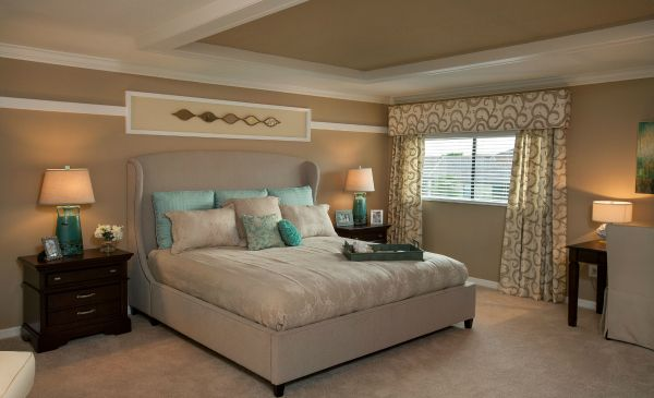 Independence master bedroom lennar homes ave maria - Lennar homes interior paint colors ...
