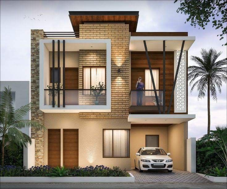 Modern houses small house plans floor duplex design also pin by mayelina harrigan on exterior in pinterest rh
