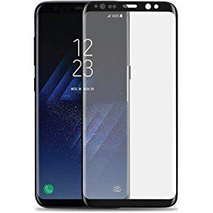 Samsung Galaxy S8 Full Cover Panzerglasfolie Folie Panzerglas 3d 9h Curve Neue Versionin Schwarz Black Von Vapiao Panzer Folie Samsung