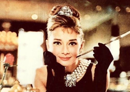 Coco Chanel probably did invent the Little Black Dress, but I couldn't think of a better model than Audrey Hepburn. Breakfast At Tiffany's - a timeless classic!