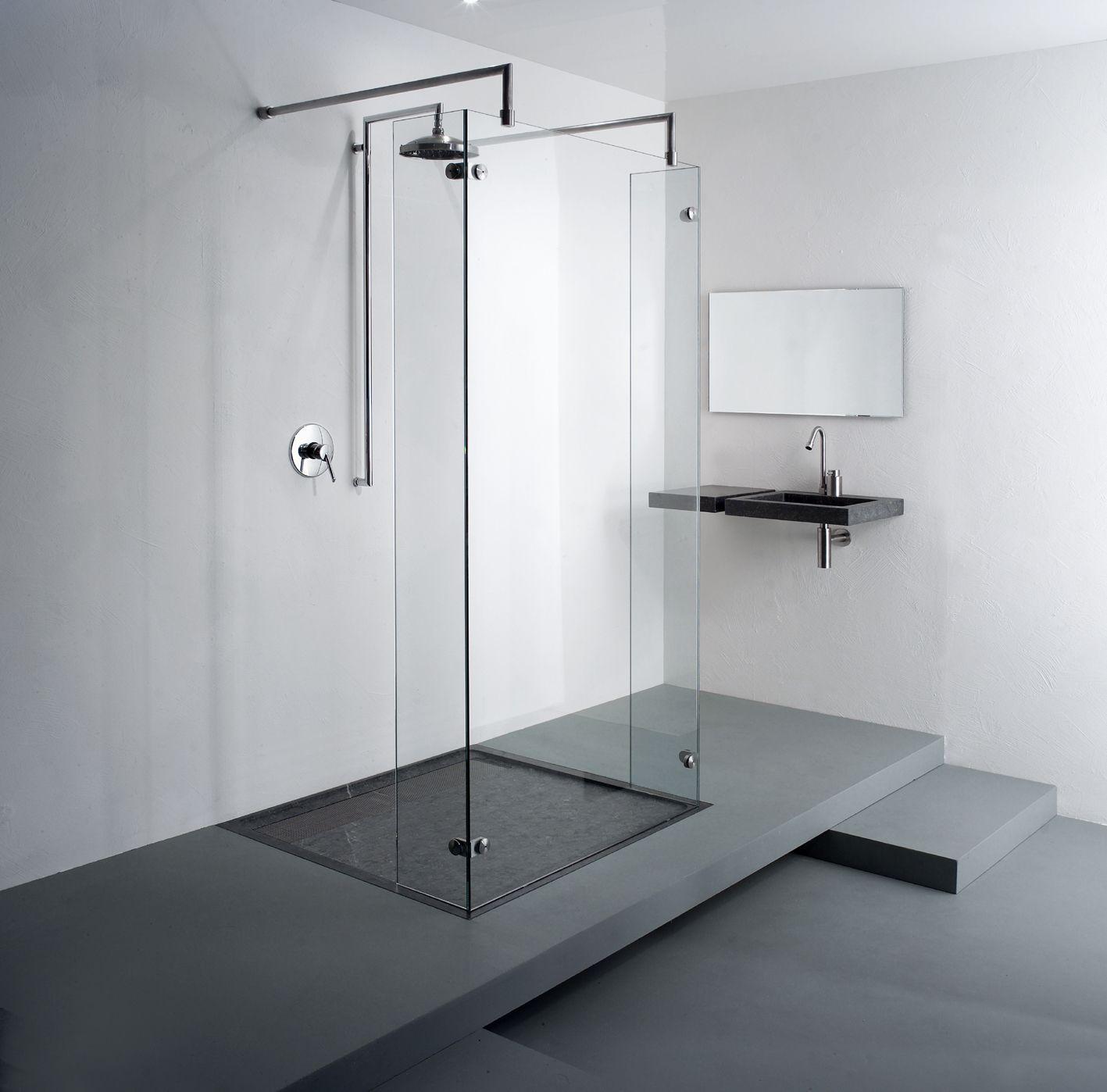 Freestanding shower freestyle model 9730 balance bathroom w a l k i n pinterest - Badkamer epuree ...