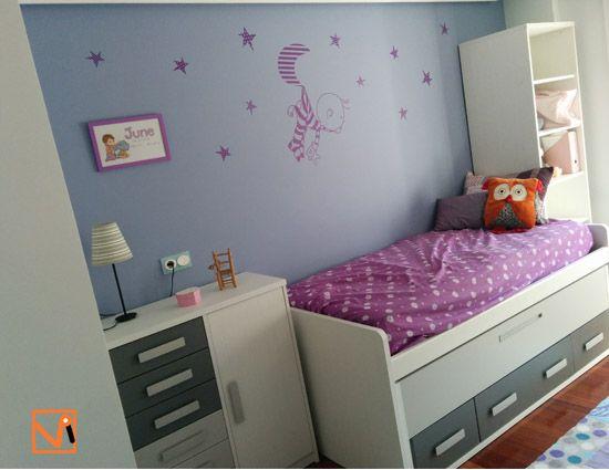 Vinilos bebe para decorar cuartos infantiles baby - Vinilos cuarto bebe ...
