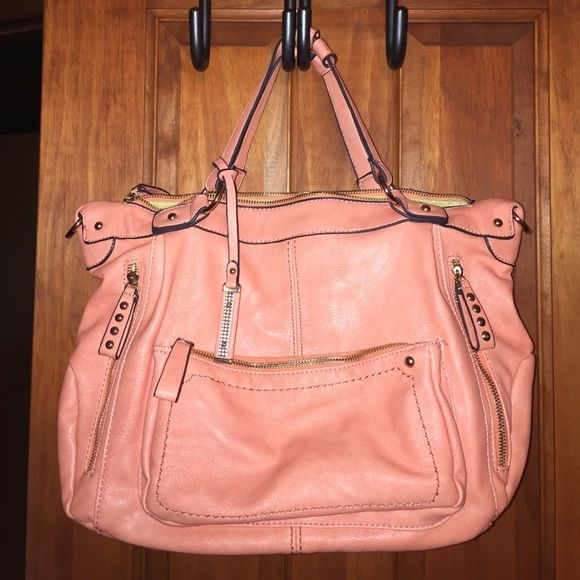 Shop Women s size OS Shoulder Bags at a discounted price at Poshmark.  Description  Peach c2443ab4d2