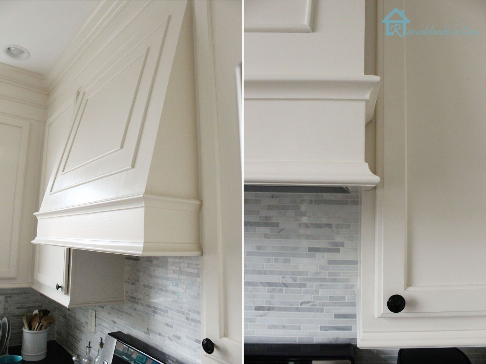 How to build your own range hood with Broan PM390 insert