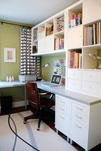 Small 10x10 Study Room Layout: Home Office Design, Ikea Home