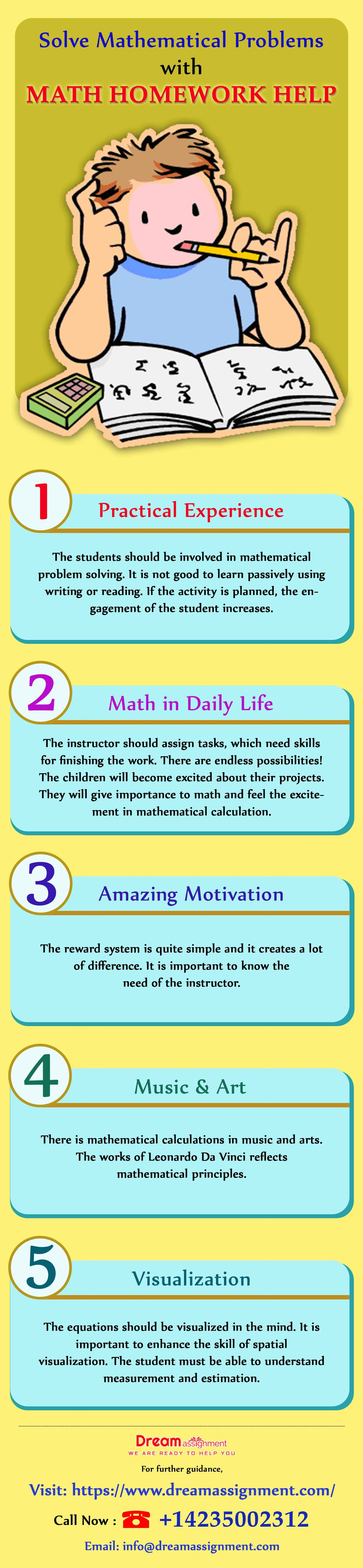 Solve Mathematical Problems with Math Homework Help (With