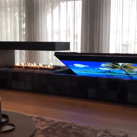 Photo of Fireplace and TV idea