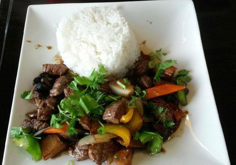 Shaking Beef (Bo Luc Lac) at Pho All Seasons Vietnamese Restaurant.  #beef #vietnamese #food #restaurant