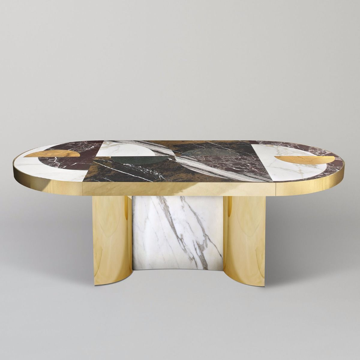 Lara Bohinc Half Moon Dining Table With Images Table Design