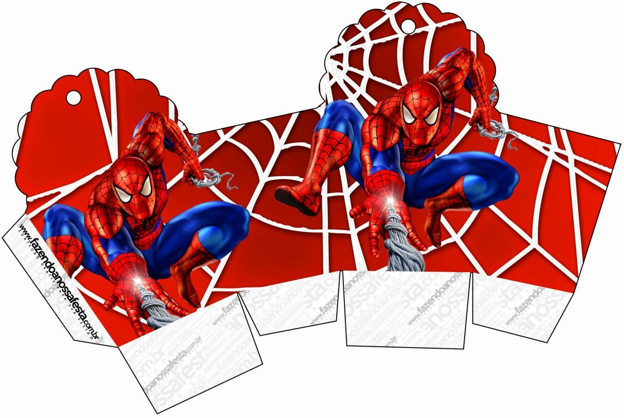 Spiderman: Free Printable Boxes. | stuff for kids | Pinterest ...