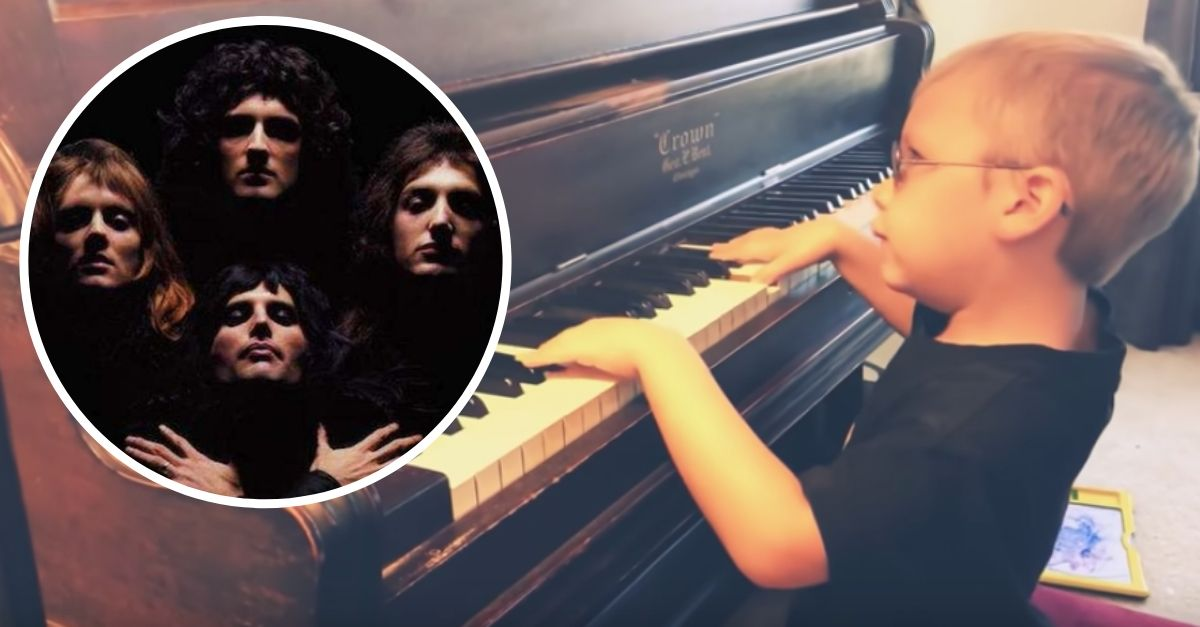 Blind Boy Plays Incredible Piano Cover Of Bohemian Rhapsody Boys Playing Piano Cover Playing Piano