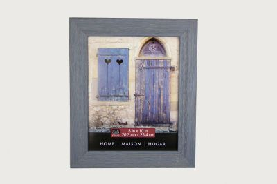 8x10 distressed barnwood blue wall frame michaels - Michaels 8x10 Frame