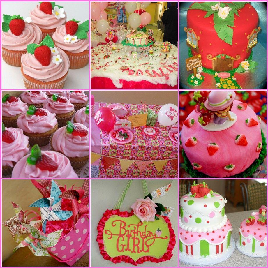 strawberry shortcake birthday party ideas for girls ...